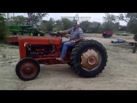 '57 Ford 641 Tractor (AS0501) Bigiron.com Online Auctions June 17, 2015