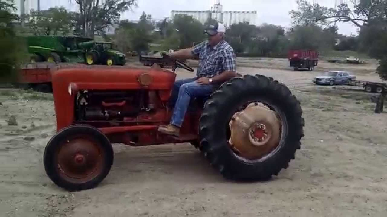 '57 Ford 641 Tractor (AS0501) Bigiron.com Online Auctions