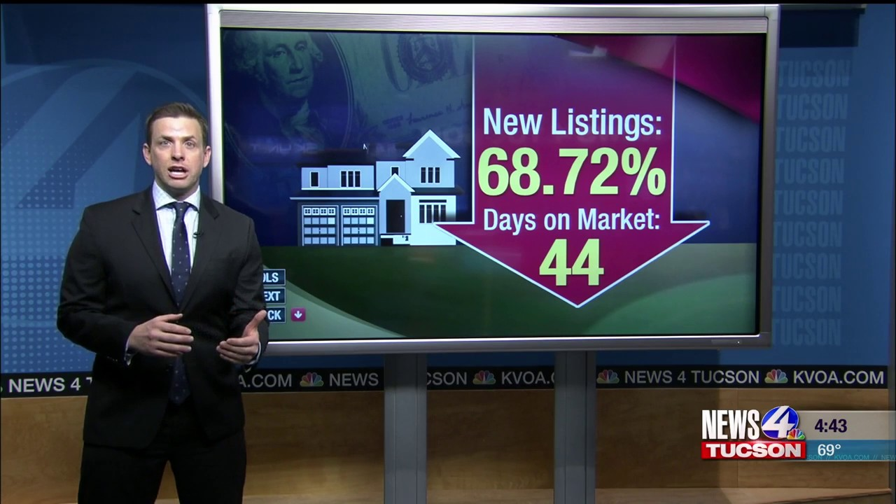 News 4 Tucson >> Number Of New Homes For Sale In Tucson Up Nearly 70 Percent Kvoa Com