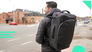 Aer Capsule Pack Max Review | 40L Carry-On Travel Backpack