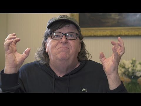 Owen Jones meets Michael Moore | 'Trump is like the sound of dying dinosaurs'