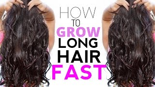 HOW TO GROW LONG HAIR FAST!! Tips For Long Hair in Under 12 Months!!!!