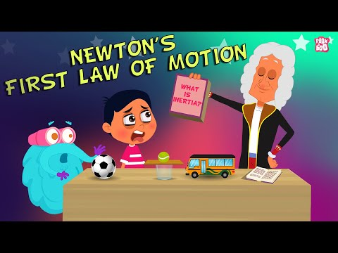 What Is Newton's First Law Of Motion? The Dr.Binocs Show Best Learning Videos For Kids Peekaboo Kidz