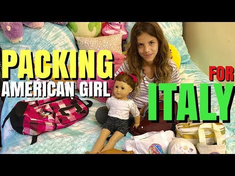 Packing American Girl For Italy