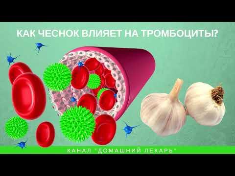 Чеснок разжижает кровь и избавляет от тромбов - Домашний лекарь - выпуск №250