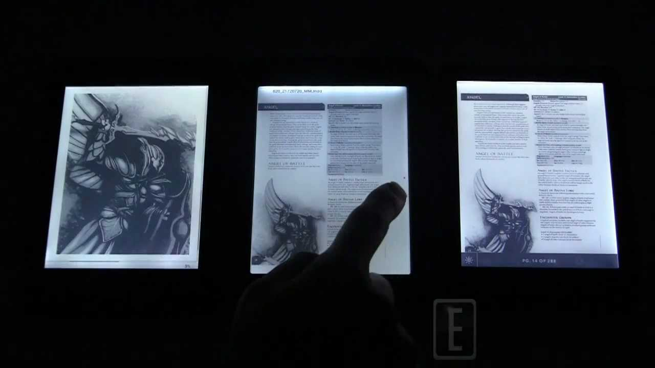 The Evolution of Front-Lit e-Reader Displays
