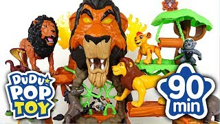 November 2017 TOP 10 Videos 90min Go! Lion Guard, Avengers, Poli and Transformers #DuDuPopTOY