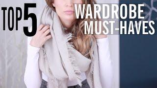 Top 5 Fall Wardrobe Must-Haves (w/ Kristina Braly!) thumbnail