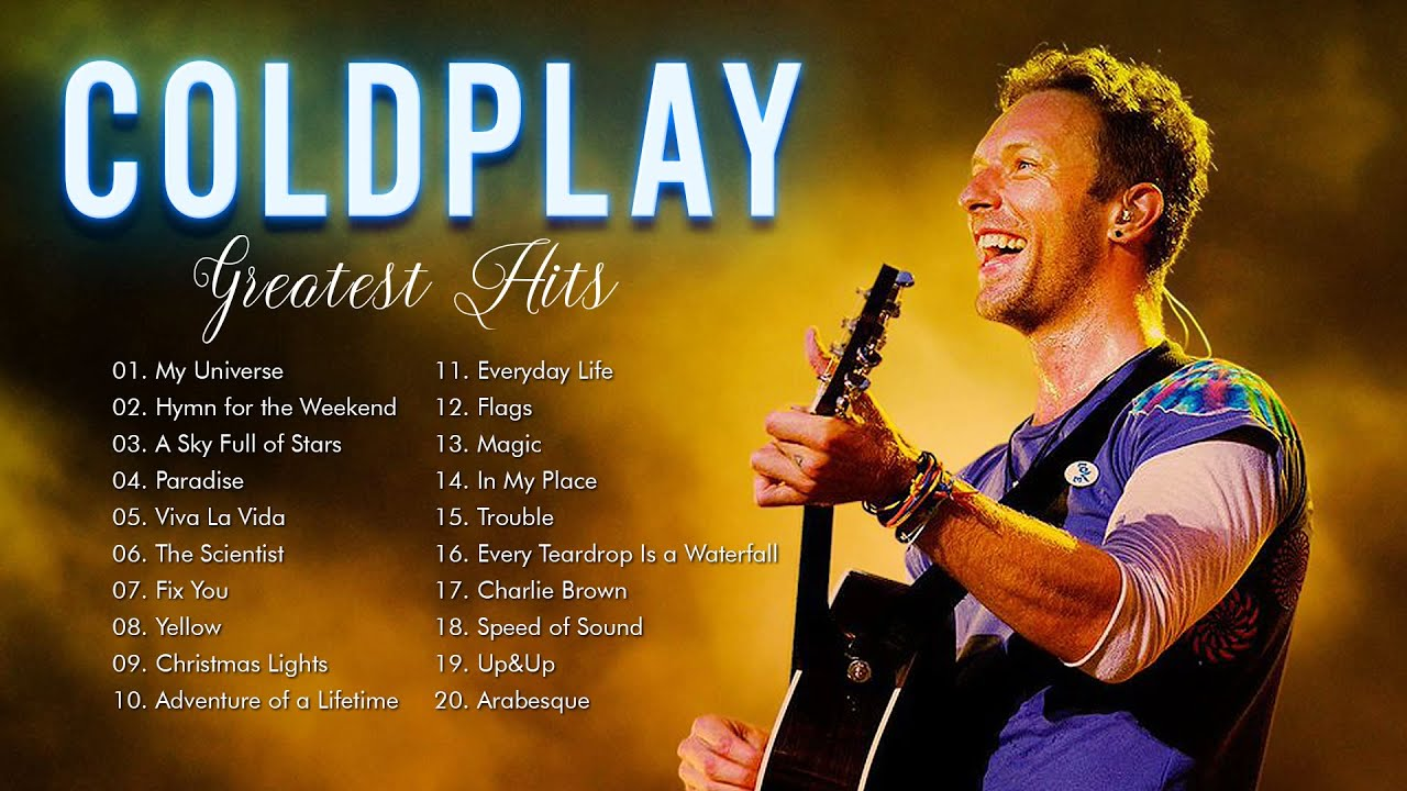 Best Songs Of Coldplay Full Album 2021  Coldplay New Playlist 2021