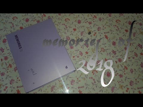 BTS memories 2018 dvd with limited edition gift (from weply)+how to use bts world clothes coupon