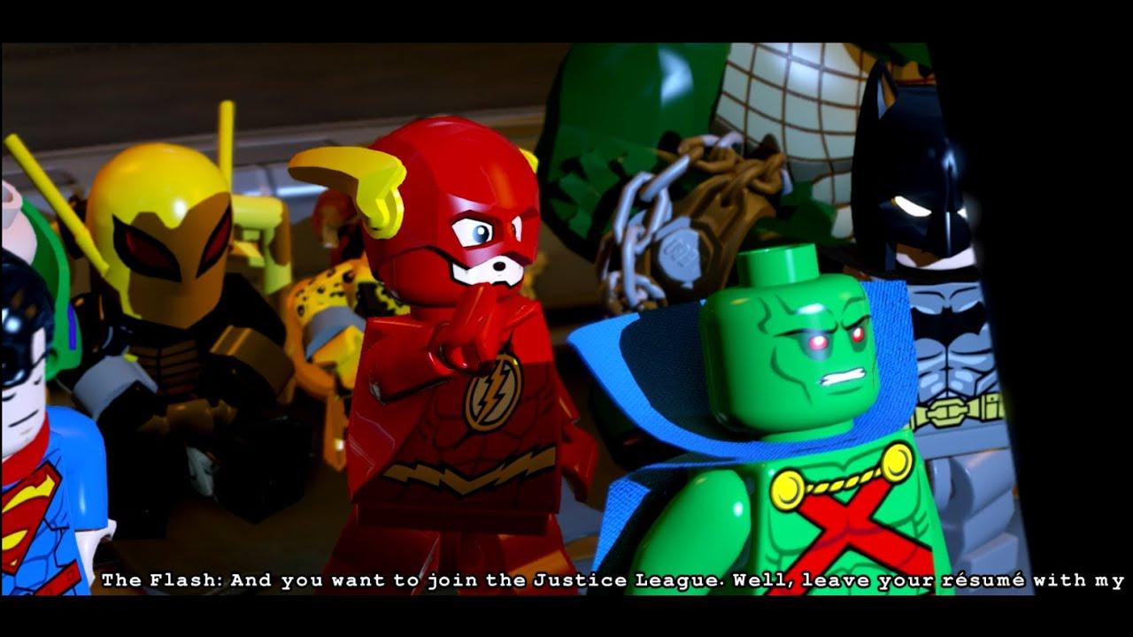 Lego Batman 3 Beyond Gotham Level 5 The Big Grapple