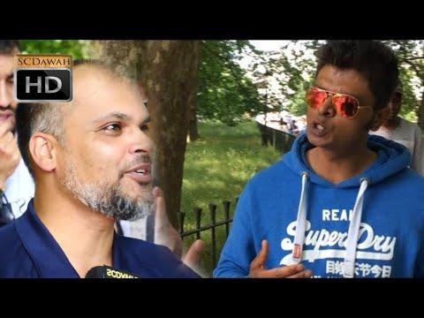 P1 - Denial of Dogma! Hashim Vs Indian Christian | Speakers Corner | Hyde Park