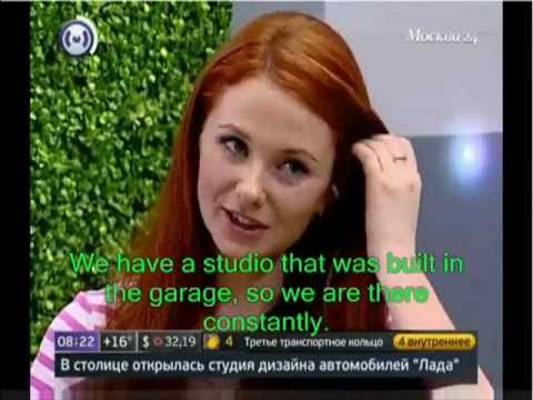 Lena's interview for 24 Moscow (English Subtitles)