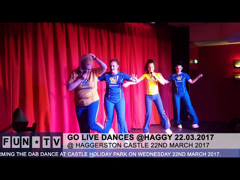 Funstars doing Dab Dance @ Haggerston Castle
