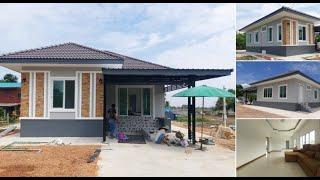 แบบบ้านหลังเล็ก ยกพื้นสูง ขนาด 3 ห้องนอน 2 ห้องน้ำ : ไอเดียบ้าน
