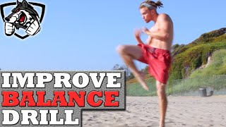 1 Drill to Instantly Improve Balance for MMA