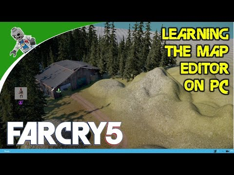 How to Use the Far Cry 5 Map Editor on PC - Far Cry 5 Arcade Mode Map Editor Demo