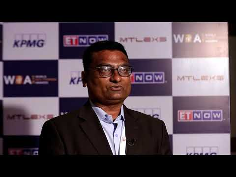 Interview : Vrundavan Ajudiya, Cavier Bath Fittings Ltd. at World Non Ferrous Awards Ceremony
