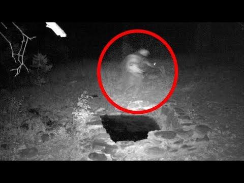 Real Skinwalker Caught On Tape On Trail Cam?