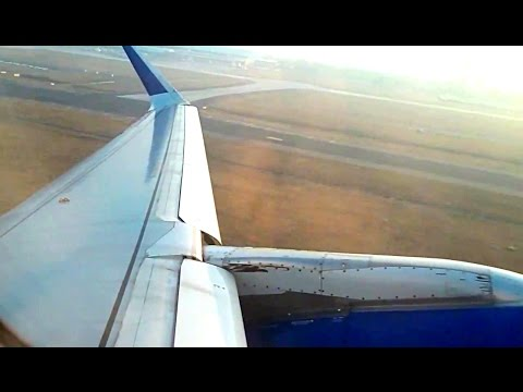IndiGo Airbus A320 Push Back and Takeoff from Delhi Indra Gandhi International Airport
