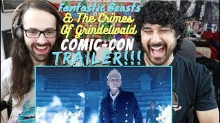 FANTASTIC BEASTS: The Crimes Of Grindelwald - Official COMIC-CON TRAILER REACTION!!!