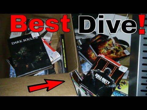BEST!!! Gamestop Dumpster Dive Night #117