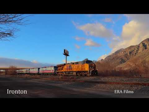 Union Pacific Siemens Electric and Diesel Locomotive Move
