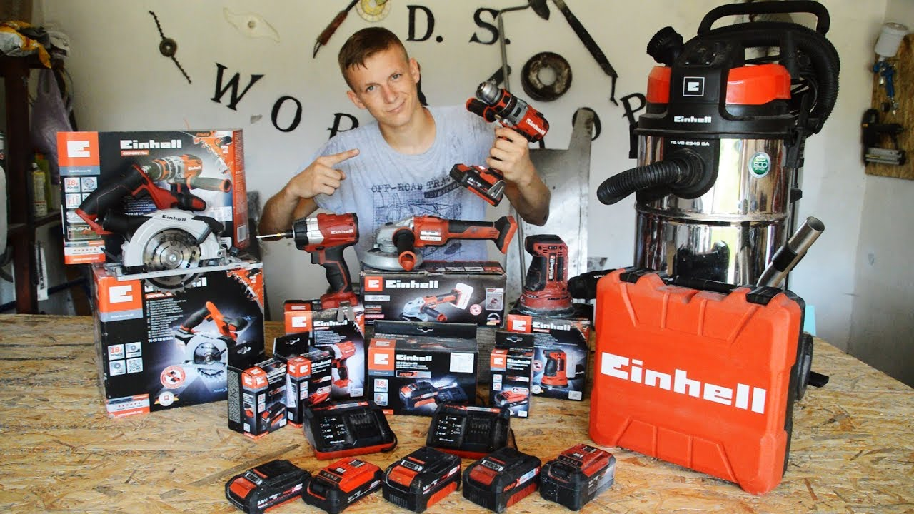 My All EINHELL POWER TOOLS After 6 Months !