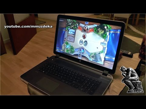 HP Pavilion 17 review, unboxing and installation