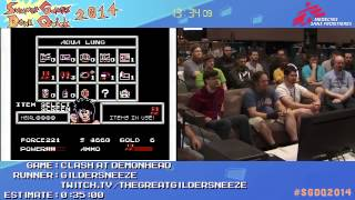Summer Games Done Quick 2014 - Part 53 - Clash At Demonhead