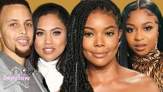 Gabrielle Union told Steph and Ayesha Curry to break up and sleep around | Reginae Carter vs Taina