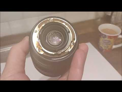 How to clean a dirty Nikon Nikkor DSLR lens