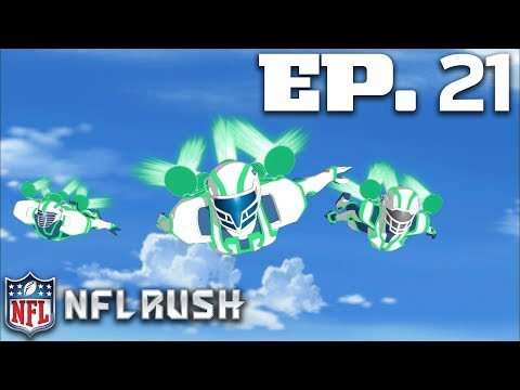 Ep. 21: Marty's Mistake (2012 - Full Show) | NFL Rush Zone: Season of the Guardians