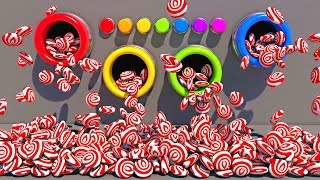 Конфеты.Учим цвета на английском. Развивающие мультики и обучающие видео обзоры детских игрушек
