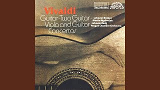 Concerto for Viola, Quitar, Strings and Continuo in D minor (Concerto con viola d´amor e leuto...