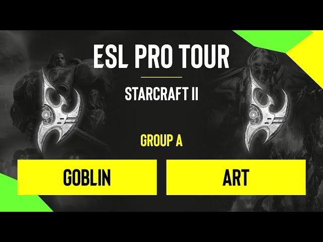 SC2 - goblin vs. ArT - DH SC2 Masters - Summer 2020 - Group D - EU