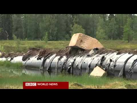 BBC about climate change studies in Siberia