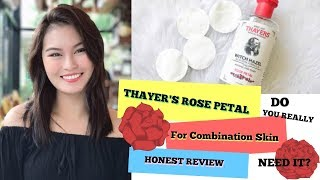 Thayer's Witch Hazel with Aloe Vera (Rose Petal) Review