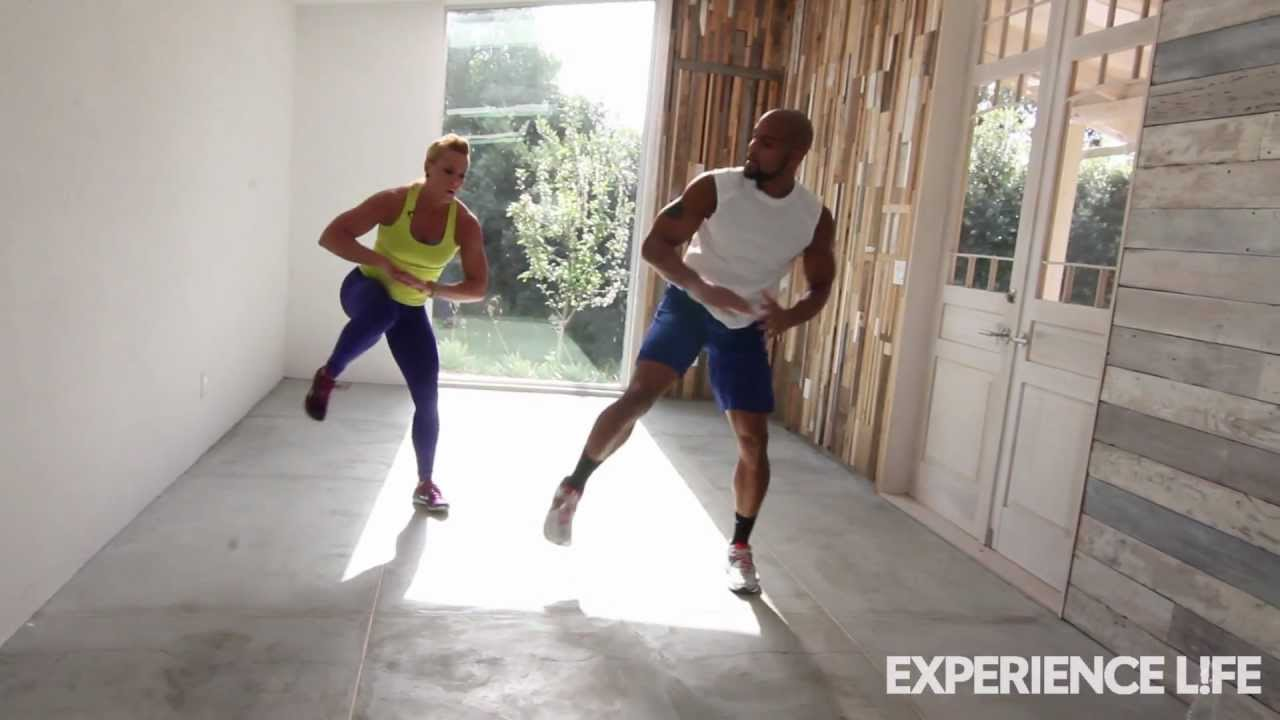 Shaun T.\'s Insanity-Inspired Workout - YouTube