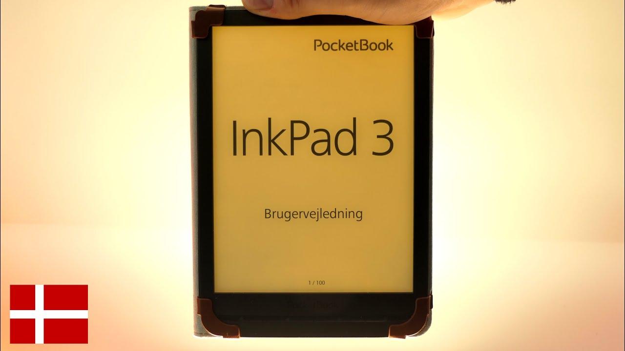 PocketBook InkPad 3 - Anmeldelse (Dansk)