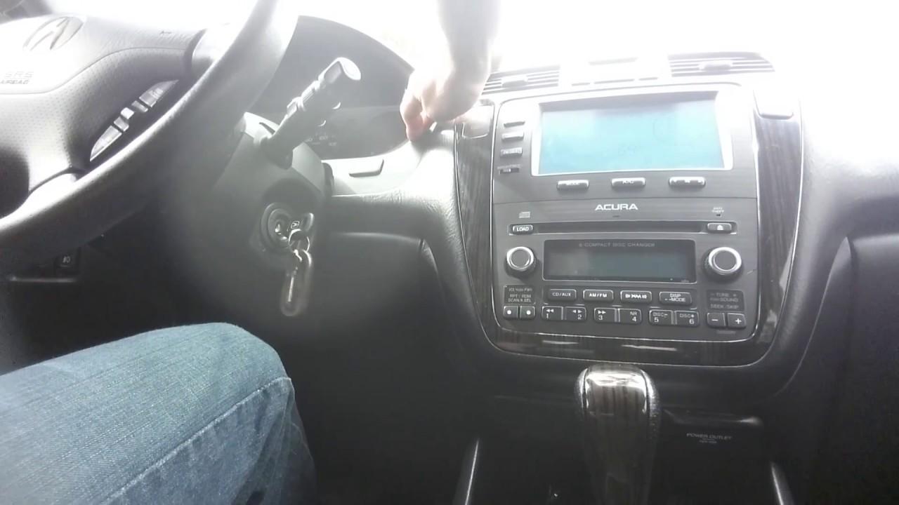 2004 acura mdx navigation reset