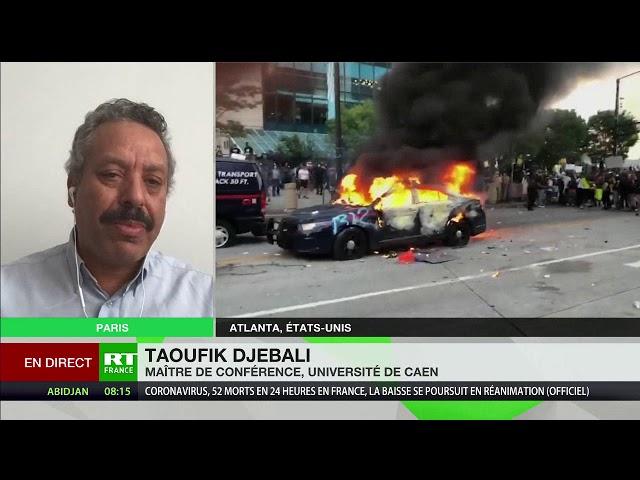 Mort de George Floyd : «La société américaine est fondée sur la violence», explique Taoufik Djebali