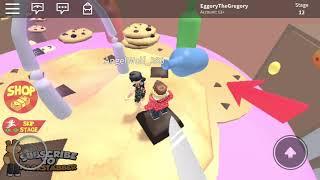 The worst obby player (Roblox Escape Grandma Obby)