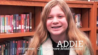 Together we are SoWashCo - Addie, 6th Grader - CGMS