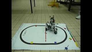 NXT Robot Chien de Garde L2 SPI, programmation C, Faculté des Sciences et Technologies