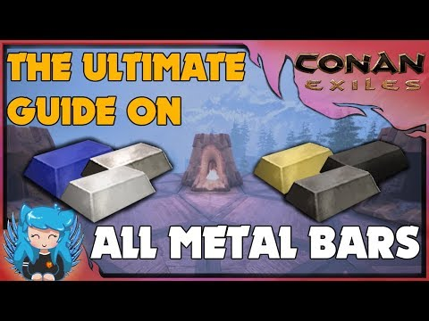 THE ULTIMATE GUIDE TO METAL (CRAFTING & FARM GUIDE) – BEGINNERS GUIDE | Conan Exiles |