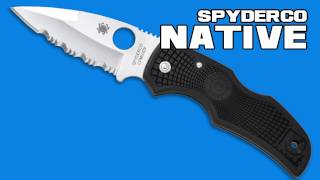 Spyderco Native FRN Review