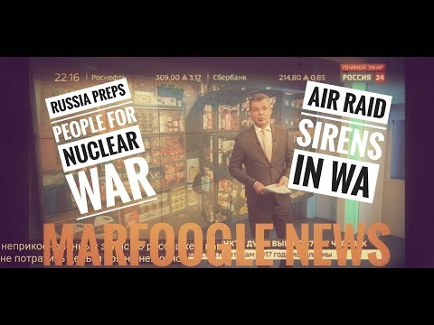 AIR RAIDS IN WASHINGTON/RUSSIAN MEDIA PREPS FOR NUCLEAR ATTACK