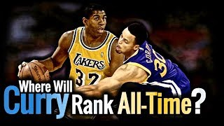Where Will Stephen Curry rank ALL-TIME?