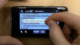 PhotoTranslator for Nokia N900